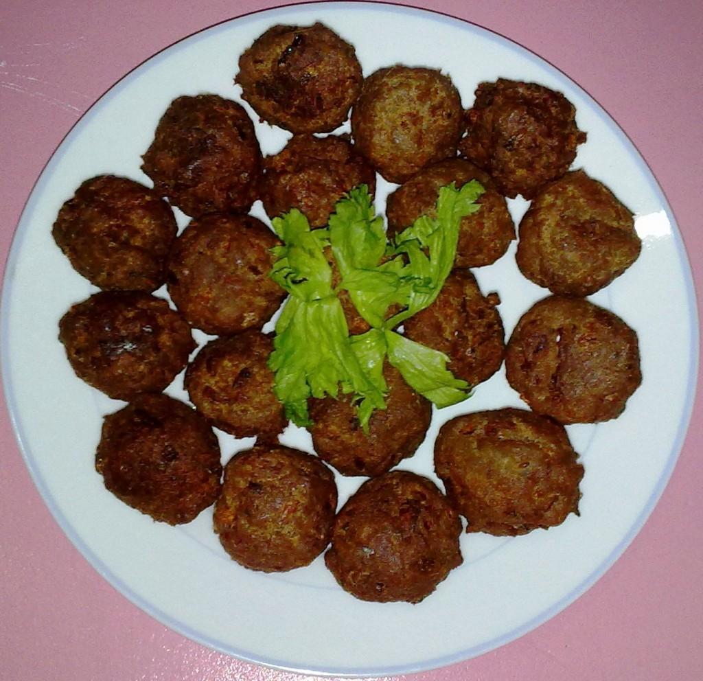 homemade fishballs