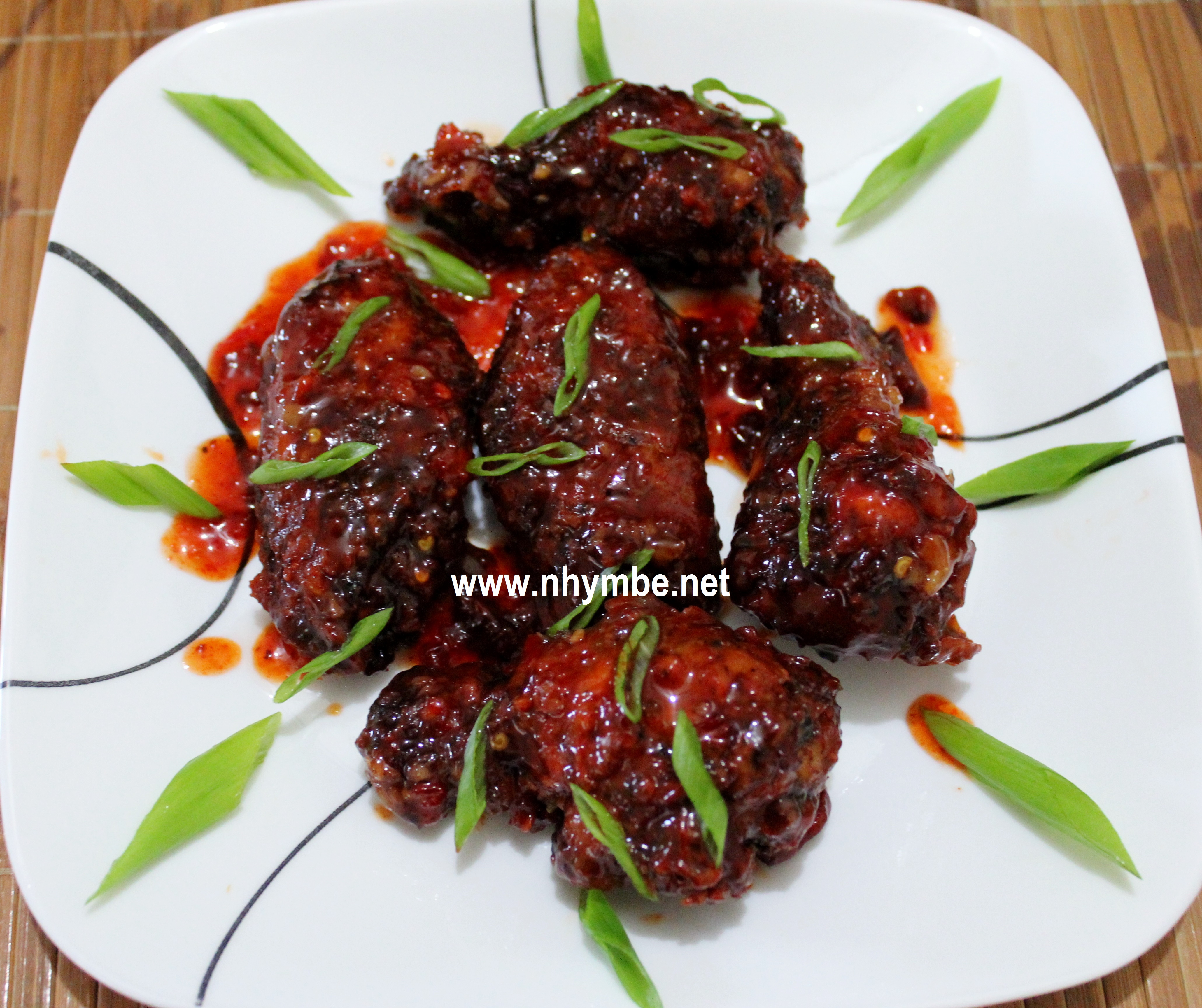Chicken wings in cola recipe - Chiken recipes