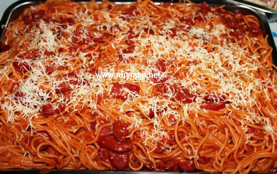 Filipino Style Spaghetti Nhymbe Net