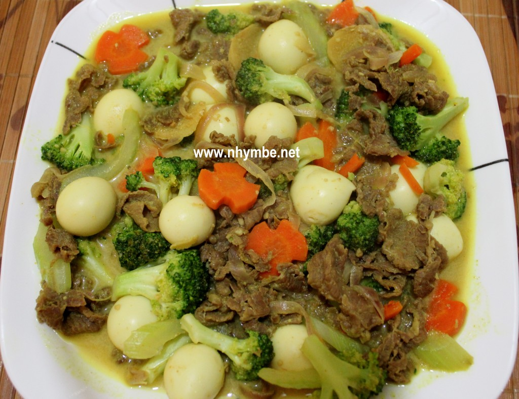beef broccoli curry