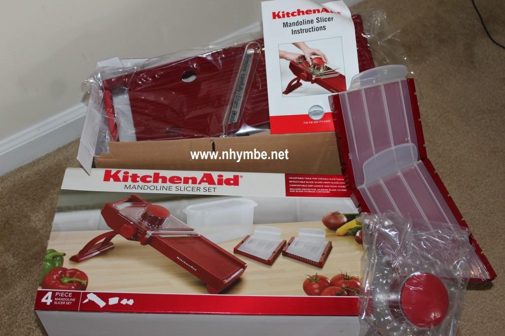 kitchen aid mandoline slicer set