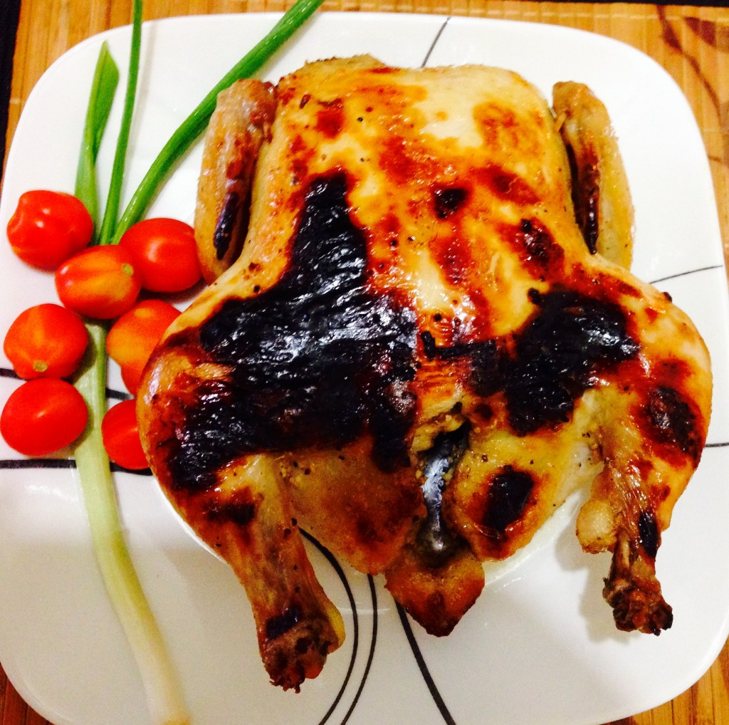 broiled whole choicken or litson manok